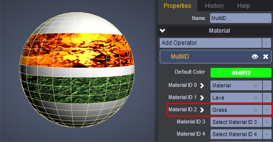 MultiID Material Properties