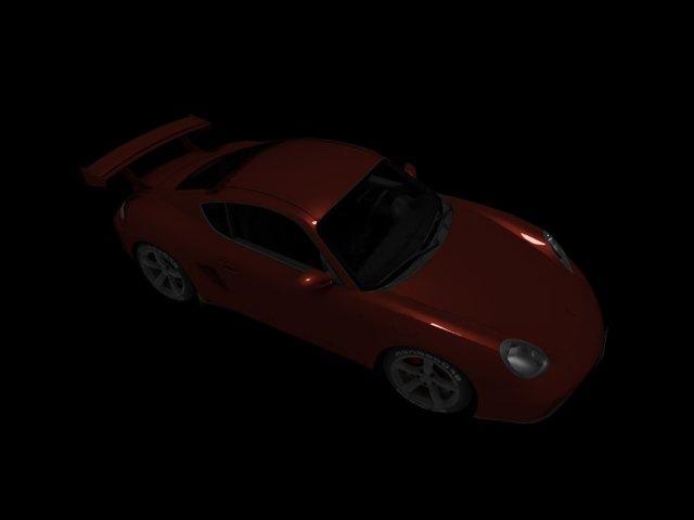'Porsche Cayman (VRay)' by Kateryna123 - 3D Model