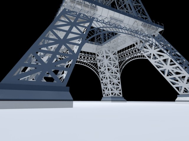 'Eiffel Tower' by xmax010 - 3D Model