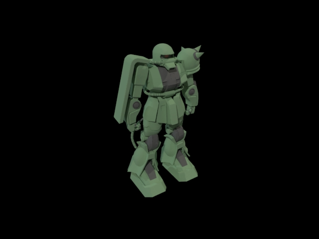 'Zaku 2' by valerio bellia - 3D Model