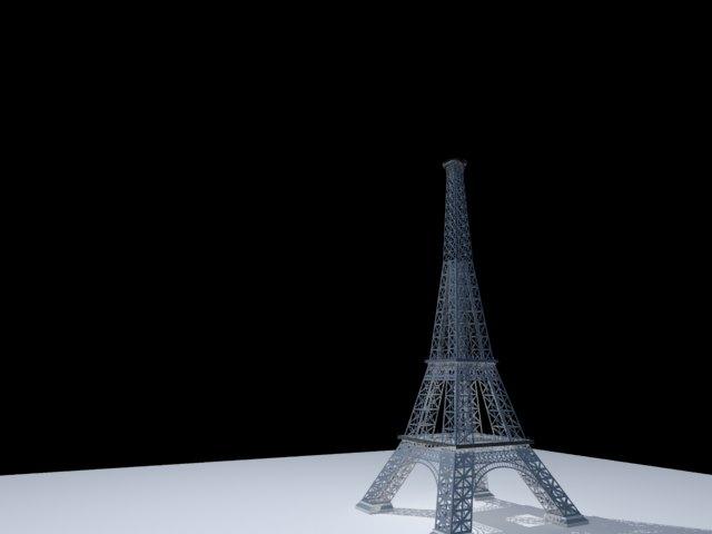'Effel Tower' by rizal44 - 3D Model