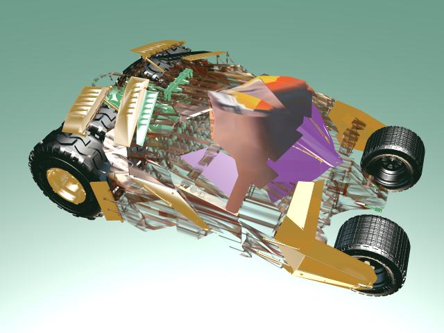 'Batman Tumbler' by bobbyshmurda - 3D Model