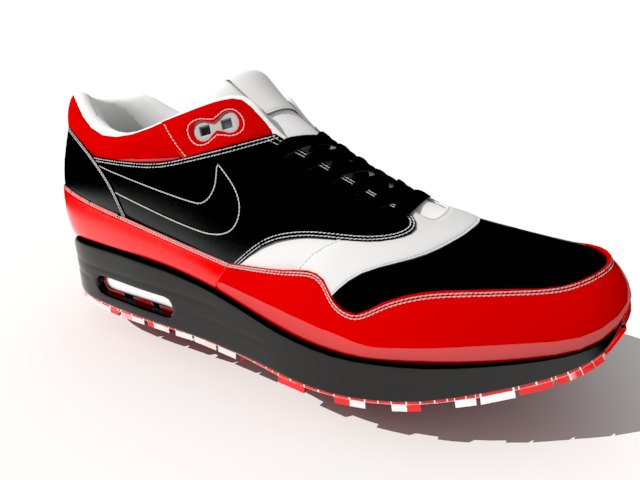 'Nike Air Max - Low Poly' by tjhthjtdedtjh - 3D Model