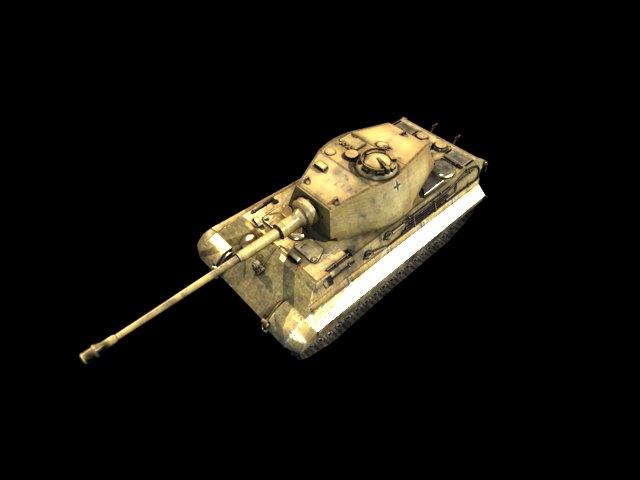 'German Panzer WW2 AUSF-B' by xmax010 - 3D Model