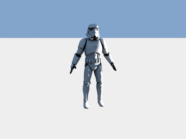 'Stormtrooper' by marcianito100realnofeik - 3D Model
