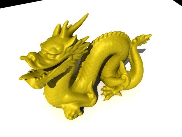 'Stanford Dragon' by Ben Houston - 3D Model