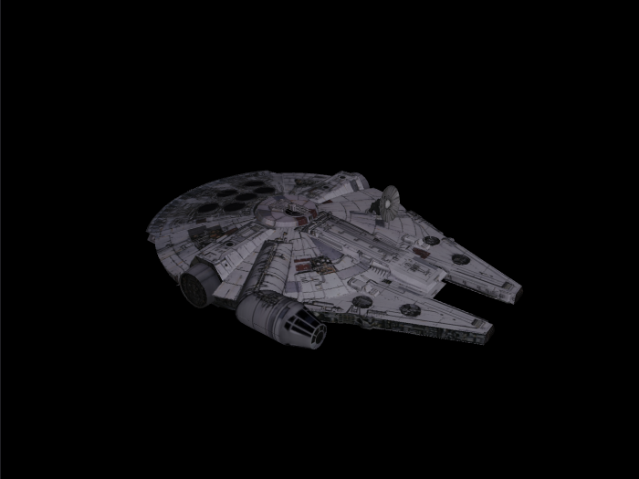 'Starwars Millennium Falcon' by Alstar - 3D Model
