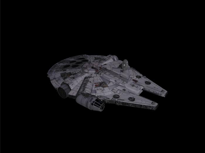 'Starwars Millennium Falcon' by xmax010 - 3D Model