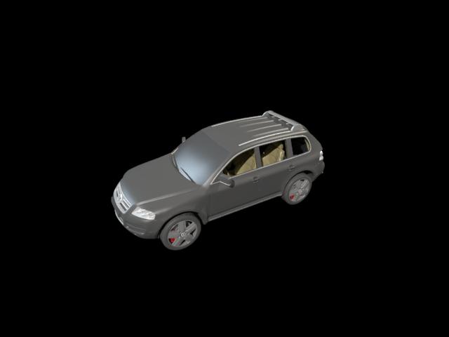 'Volkswagen Touareg' by samycbk - 3D Model