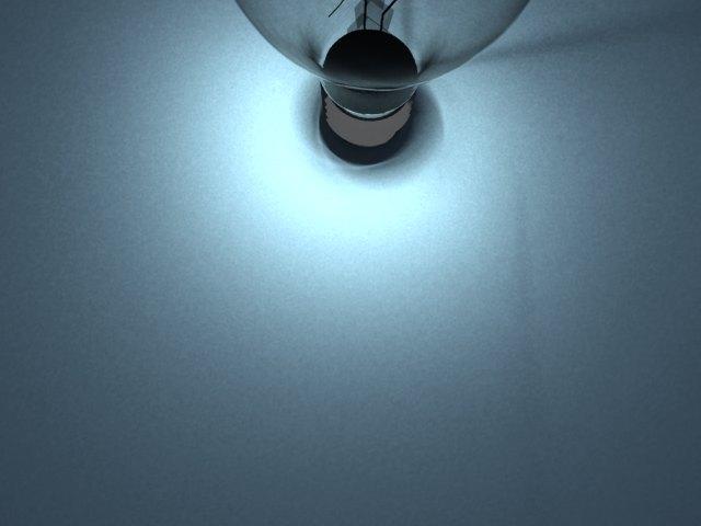 'Light Blub - Mesh Light' by adipan - 3D Model
