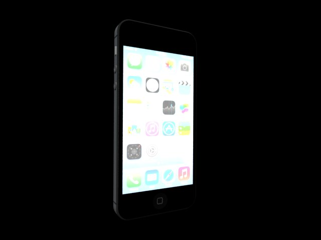 'iPhone 5S' by minaadly - 3D Model