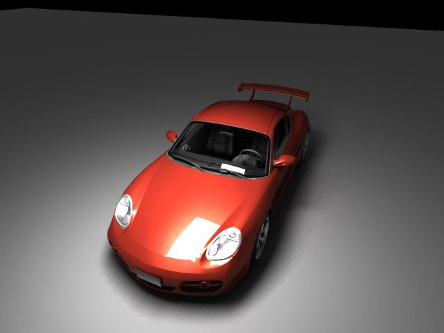 'Porsche Cayman (VRay)' by Anathiriyan - 3D Model