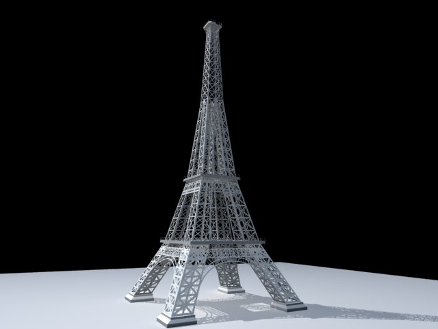 'Effel Tower' by bruninhoalen - 3D Model