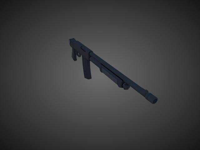 'Shotgun - ValtroPM5' by bevisbear - 3D Model