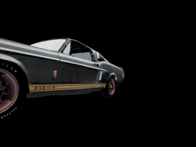 '1967 Shelby Ford Mustang' by pizza1234 - 3D Model