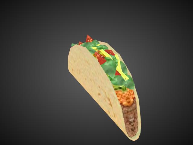 'Taco' by bevisbear - 3D Model