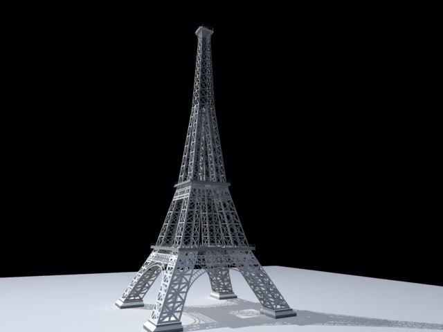 'Effel Tower' by PrashanthG - 3D Model