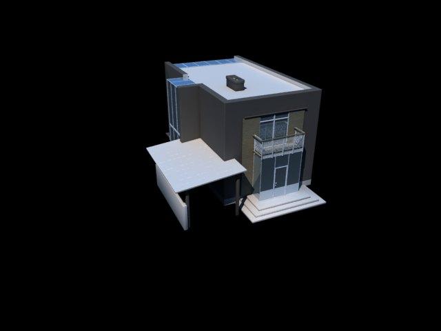 'Modern Building' by Bago - 3D Model