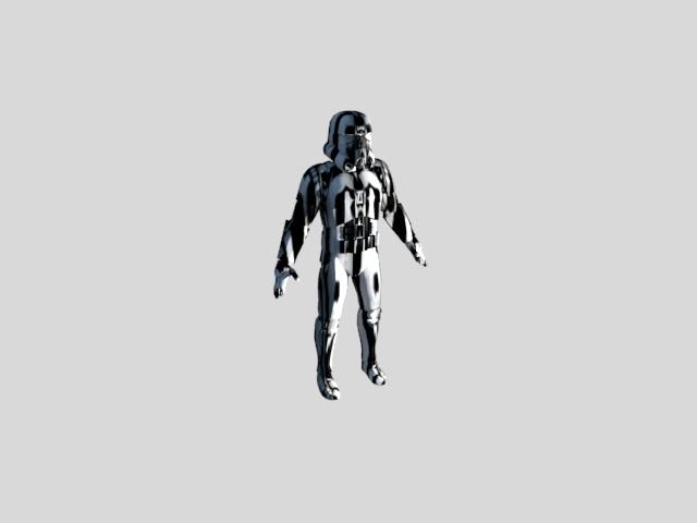 'Stormtrooper 1' by bobertlove - 3D Model