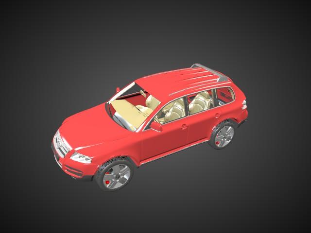 'Volkswagen Touareg' by Aziriz - 3D Model