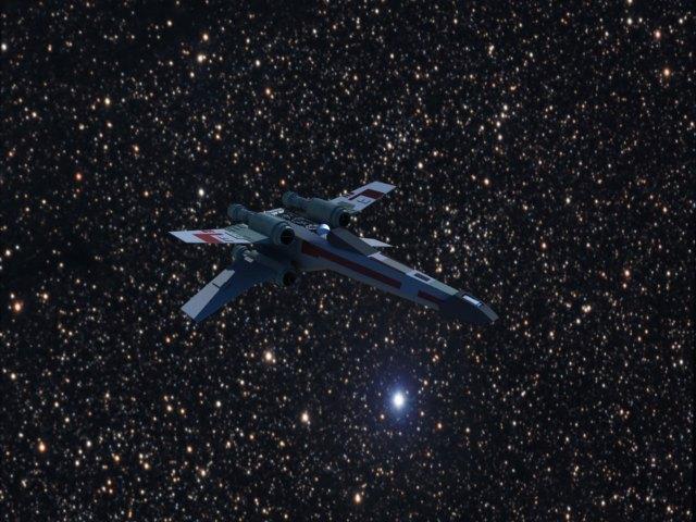 'Star Wars X-Wing' by xmax010 - 3D Model