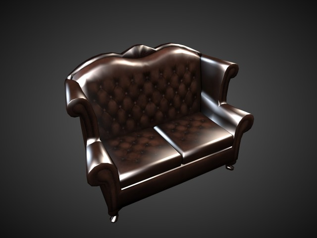 'Arm Chair' by atomicguy - 3D Model