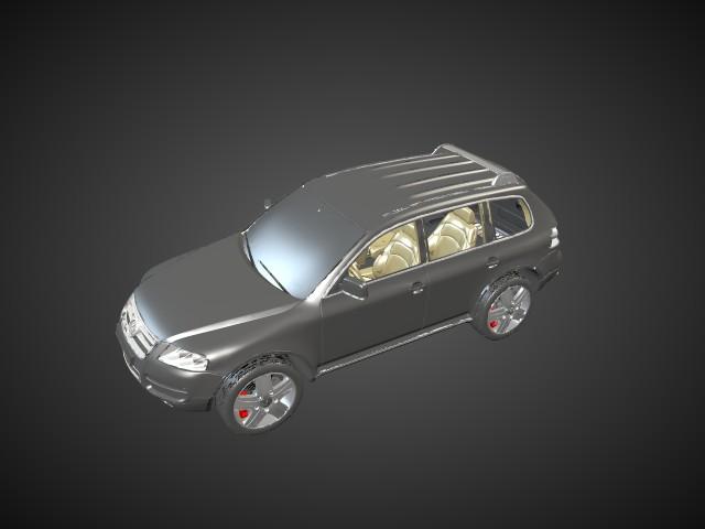 'Volkswagen Touareg' by zdenekm - 3D Model