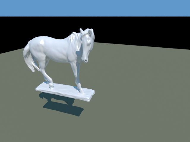 'Horse Statue' by xatruch4 - 3D Model