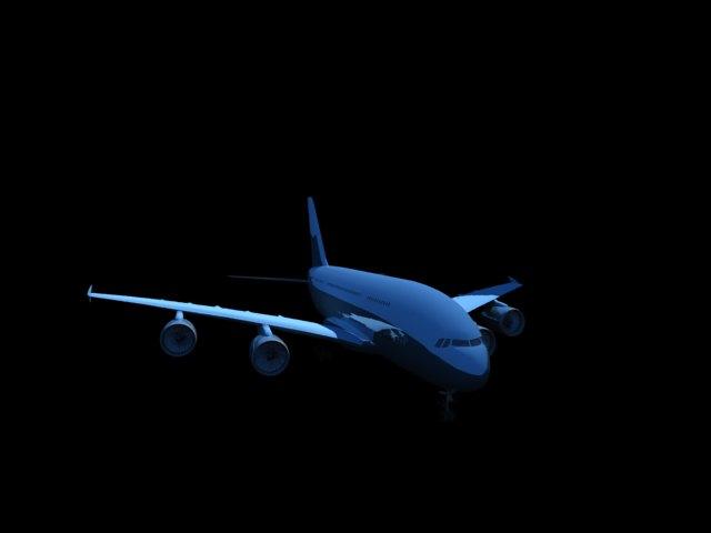 'A380' by zanepopes - 3D Model