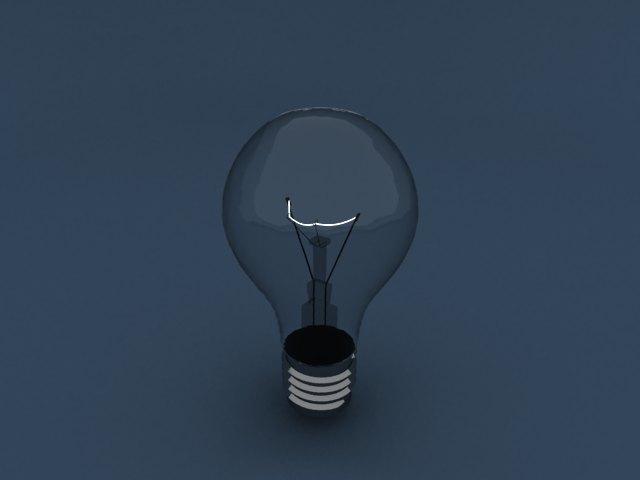 'Light Blub - Mesh Light' by qas - 3D Model