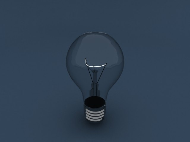 'Light Blub - Mesh Light' by ashwaqalkaabi - 3D Model