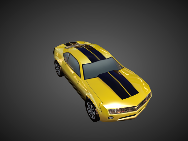 'Camero 2010 - Low Poly' by andrewxxtheone - 3D Model