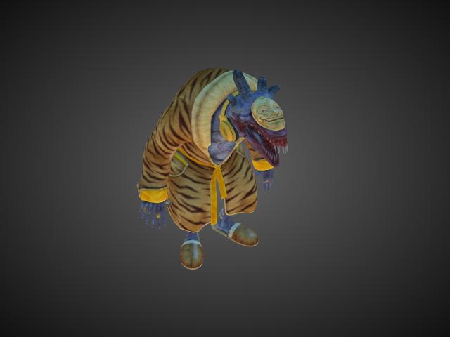 'Inbeda' by bevisbear - 3D Model