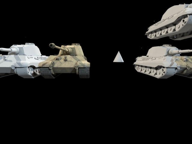 'German Panzer WW2 AUSF-B' by calebkit - 3D Model