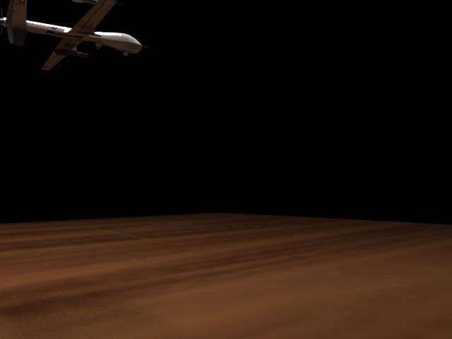 'MQ-9 Reaper UAV (VRay)' by calebkit - 3D Model
