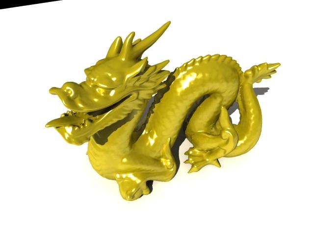 'Stanford Dragon' by ular3d - 3D Model