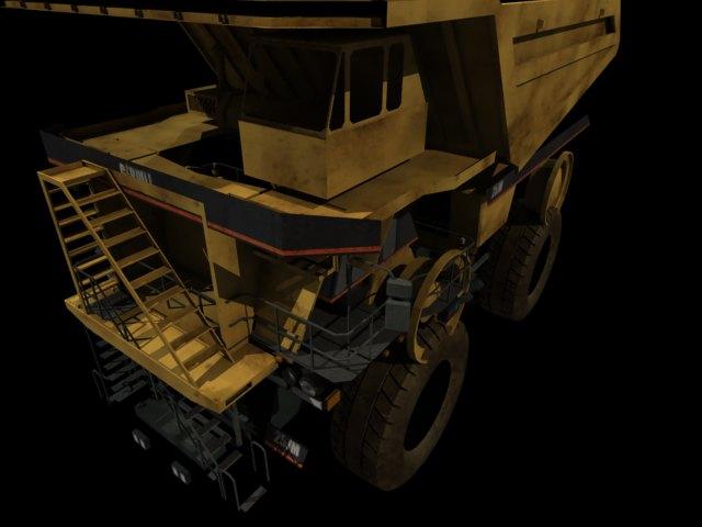 'Mining Dump Truck' by anilanalan - 3D Model