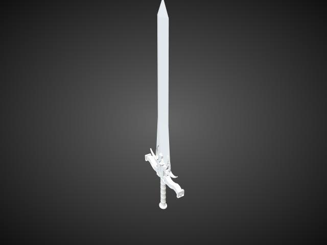 'SG - Sword 9-clone' by godlzr - 3D Model
