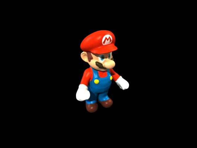 'Mario Sculpture' by Zainy - 3D Model