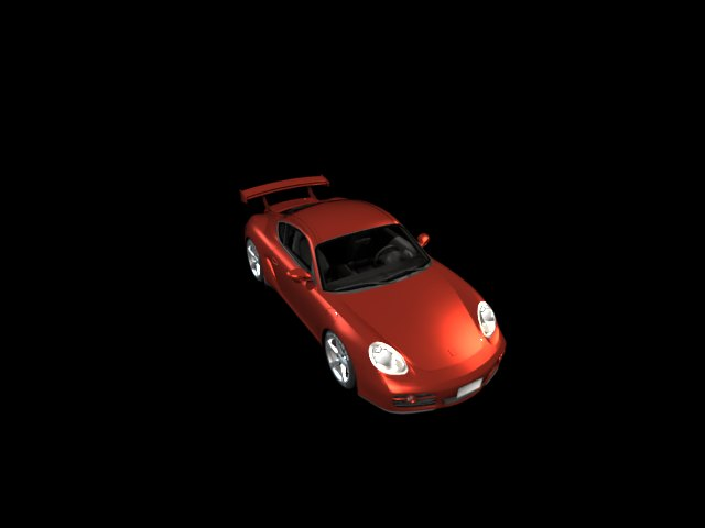 'Porsche Cayman (VRay)' by glennflanagan - 3D Model