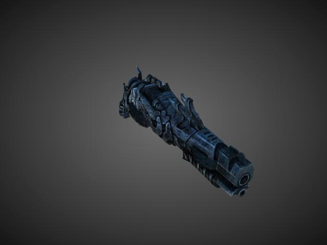 'Shotgun - Stinger of Colel Cab(Darkness War)' by bevisbear - 3D Model