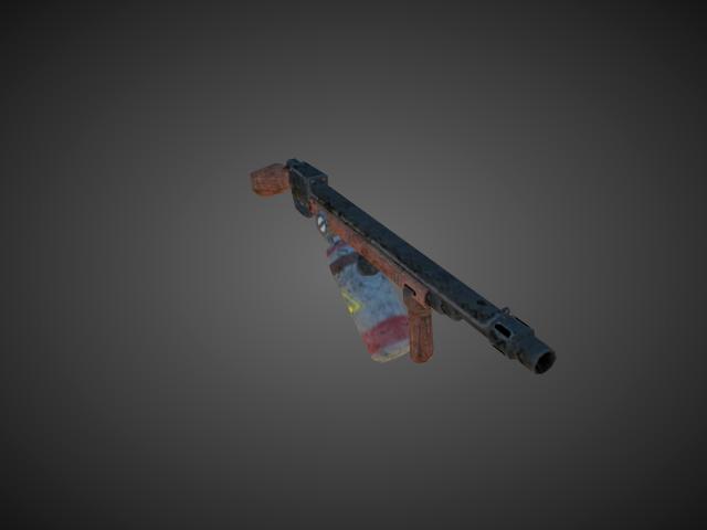 'Flamethrower - Normal' by bevisbear - 3D Model