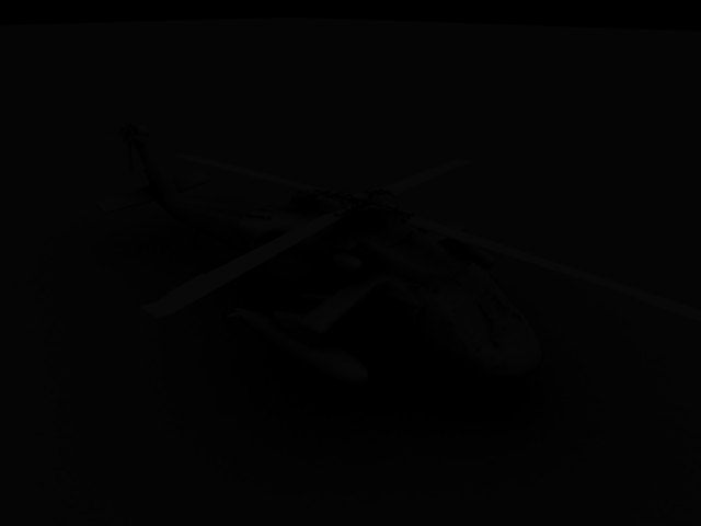 'UH-60 Blackhawk Helicopter' by fgfsg - 3D Model