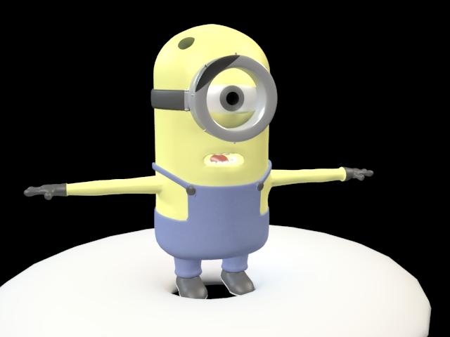 'Minion' by KumaRKing - 3D Model