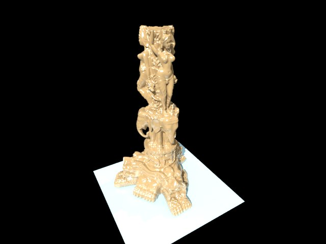 'Copy of Thai Statue (300k)' by pacy - 3D Model
