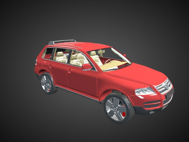 'Volkswagen Touareg' by nickwilson - 3D Model