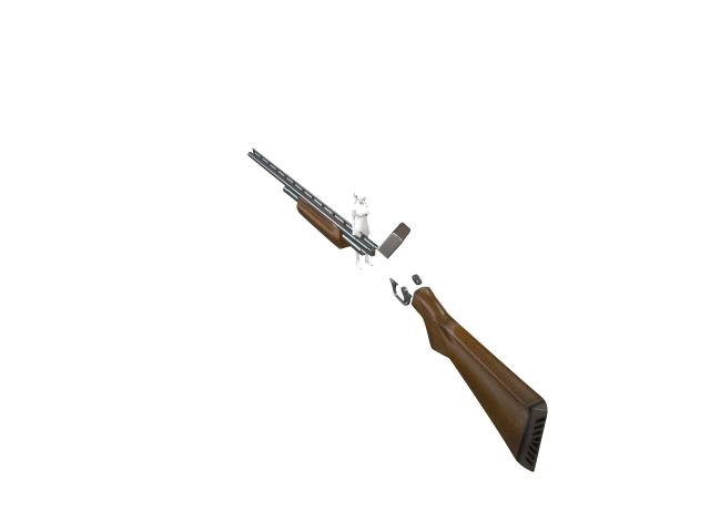 'Shotgun' by FalloutStoryteller13 - 3D Model