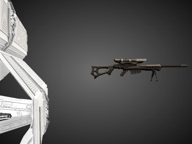 'Star Wars Vader TIE Fighter' by calebkit - 3D Model