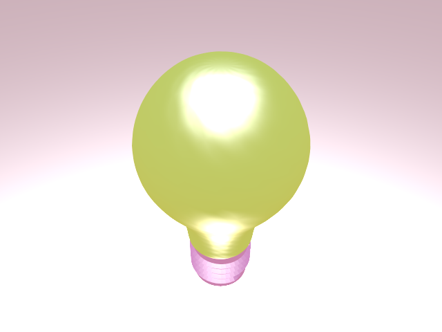 'Light Blub - Mesh Light' by mjpitsicalis - 3D Model