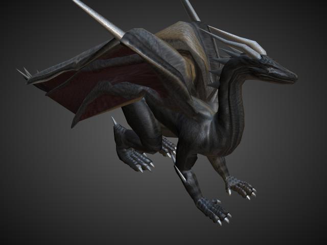 'Dragon' by shanky94 - 3D Model